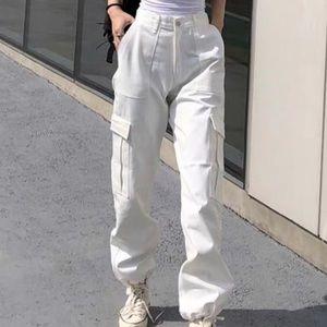 Pants - white cargo pants